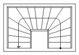 schodiště 2x1/4 lomené